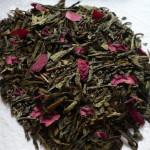 Sencha Vanille-Rose Teemischung