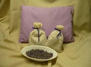 Lavendelkissen-und-Lavendelsäckchen