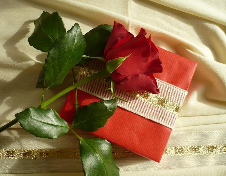Geschenk zur Rosenhochzeit